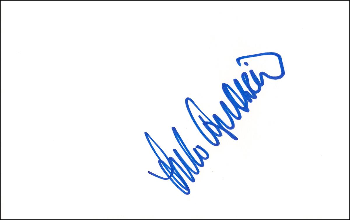 Arlo Guthrie Index Card #2