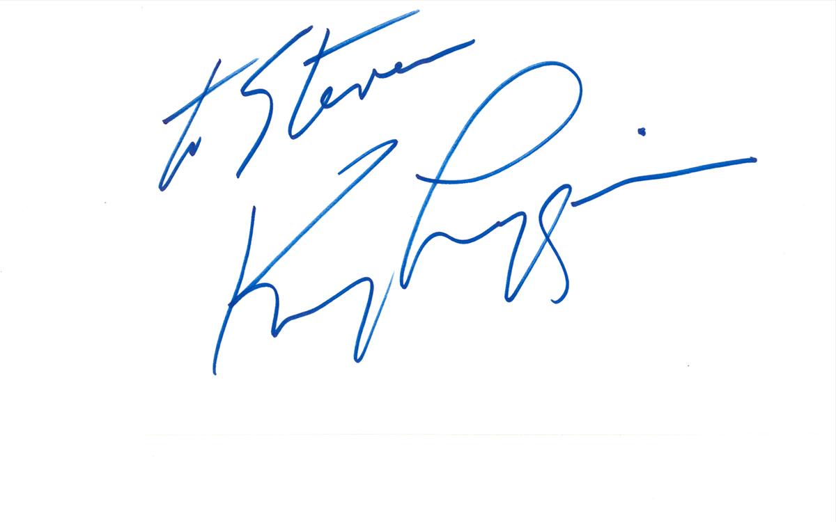 Kenny Loggins Index Card #2