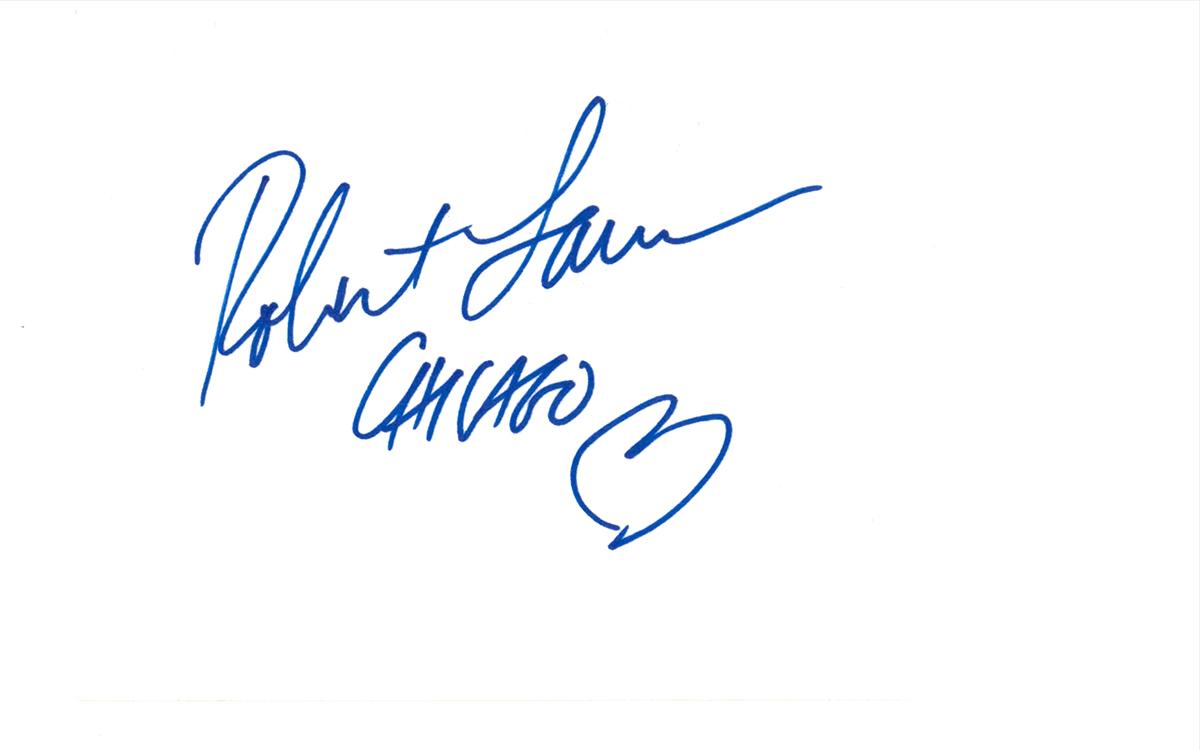 Robert Lamm Index Card #2
