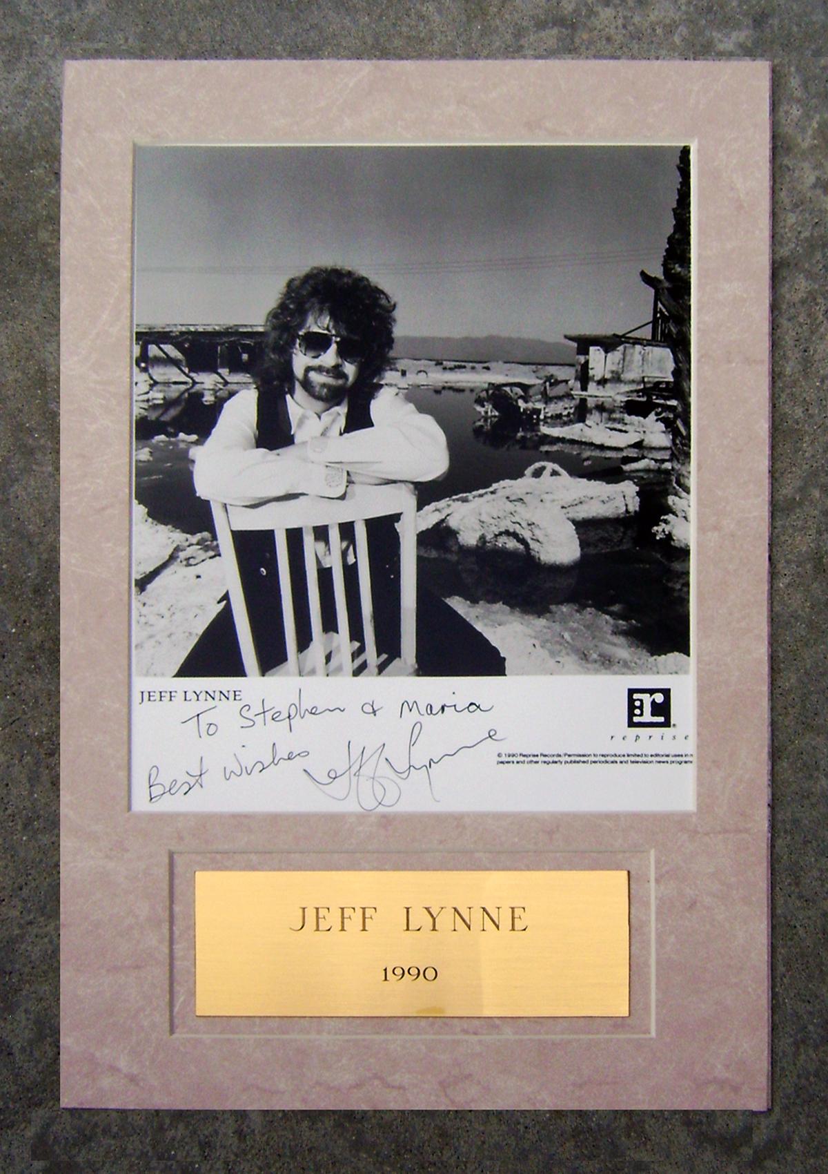 Photo - Framed - Jeff Lynne