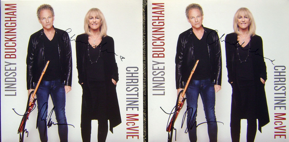 LPs - Lindsey Buckingham & Christine McVie