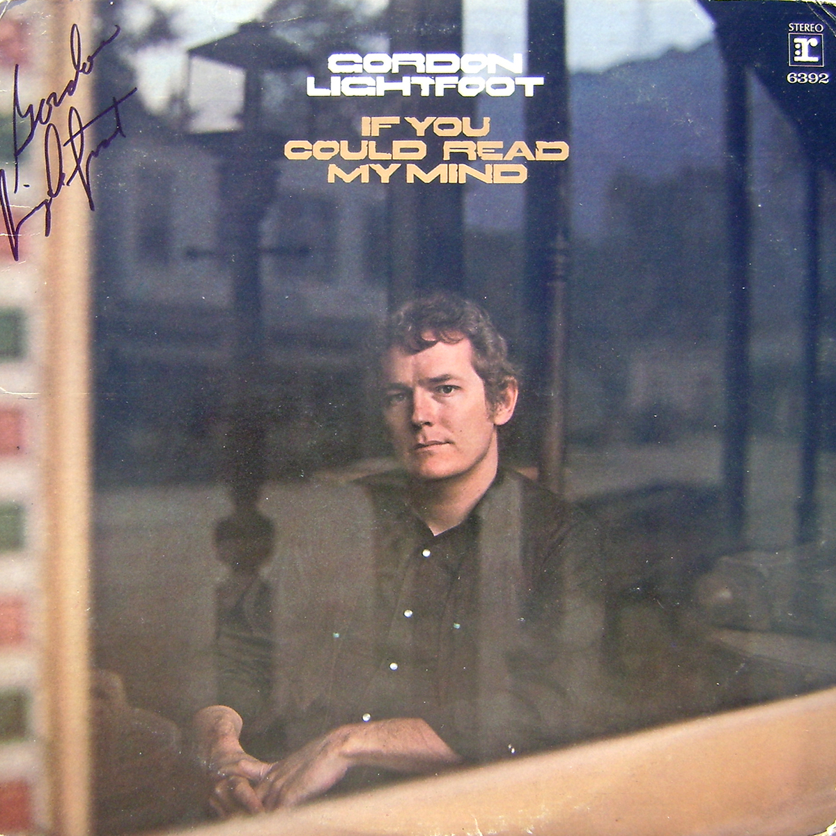 Gordon Lightfoot LP - If You Could Read My Mind