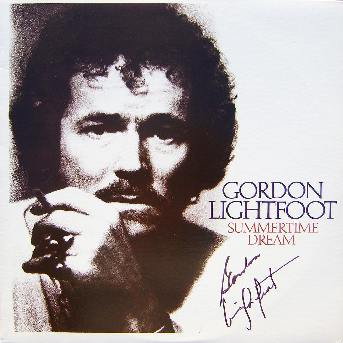 Gordon Lightfoot LP - Summertime Dream
