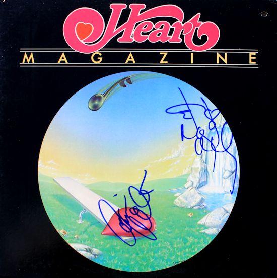 Heart LP - Magazine
