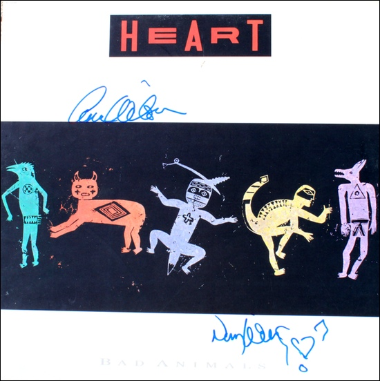 Heart LP - Bad Animals