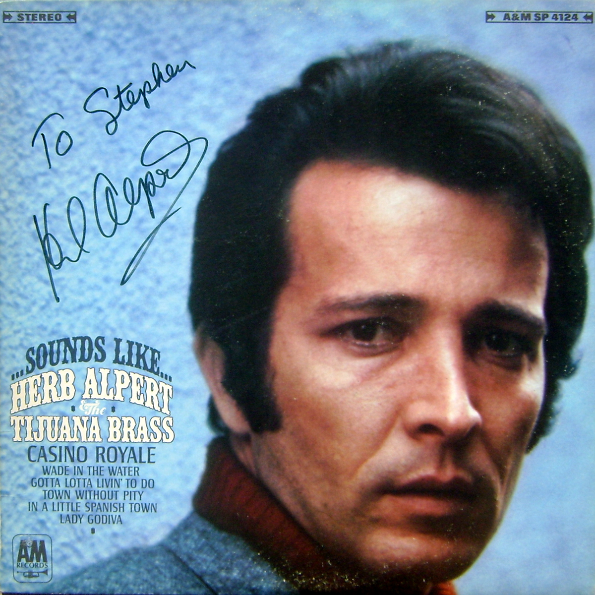 Herb Alpert & The Tijuana Brass LP - Sounds Like