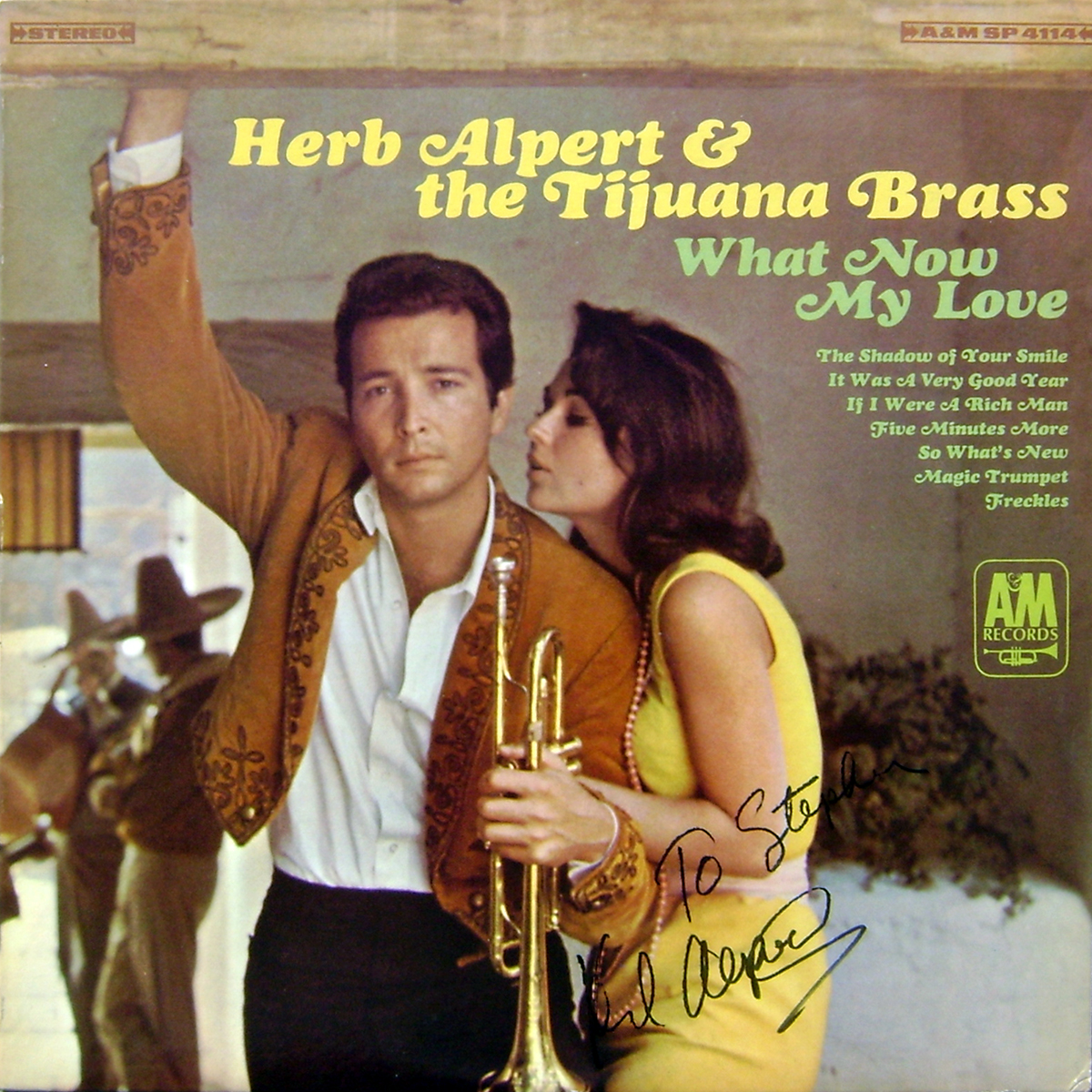 Herb Alpert & The Tijuana Brass LP - What Now My Love