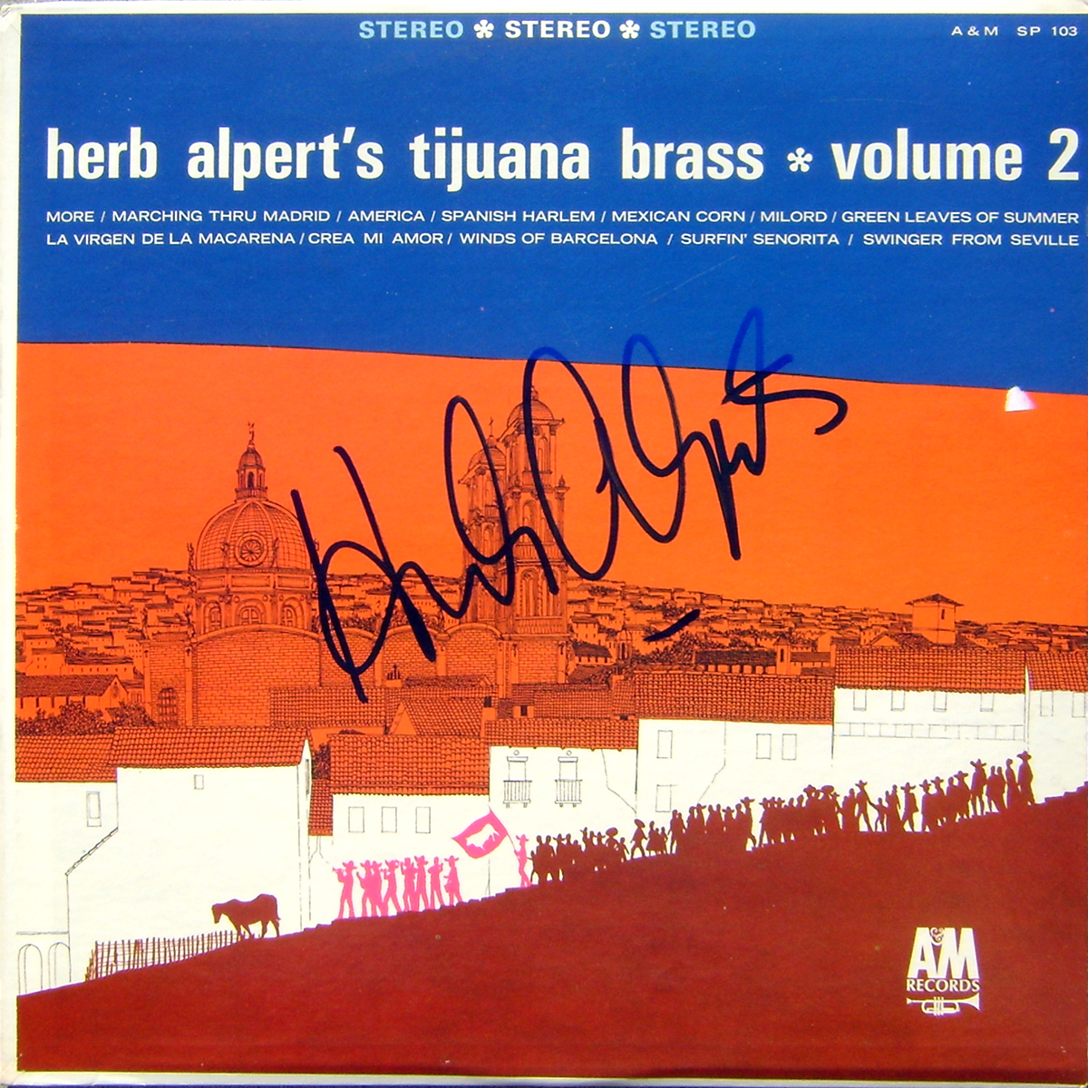 Herb Alpert's Tijuana Brass LP - Volume 2