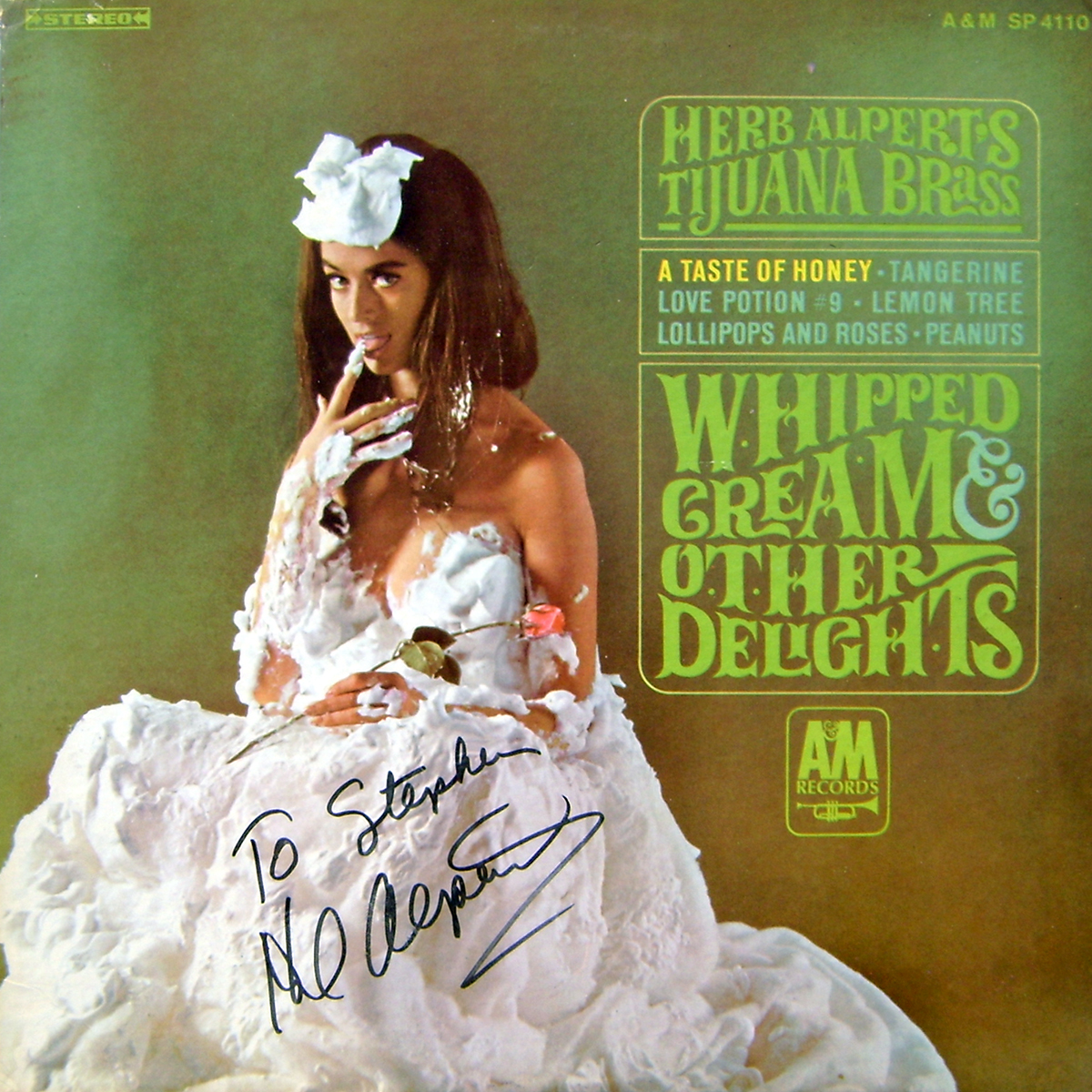 Herb Alpert LP - Whipped Cream and Other Delights #1