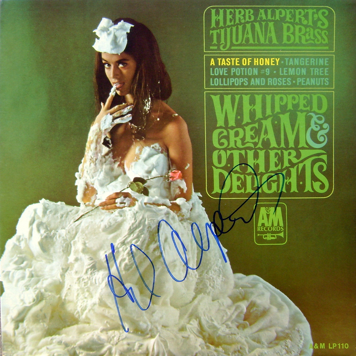 Herb Alpert LP - Whipped Cream and Other Delights #2