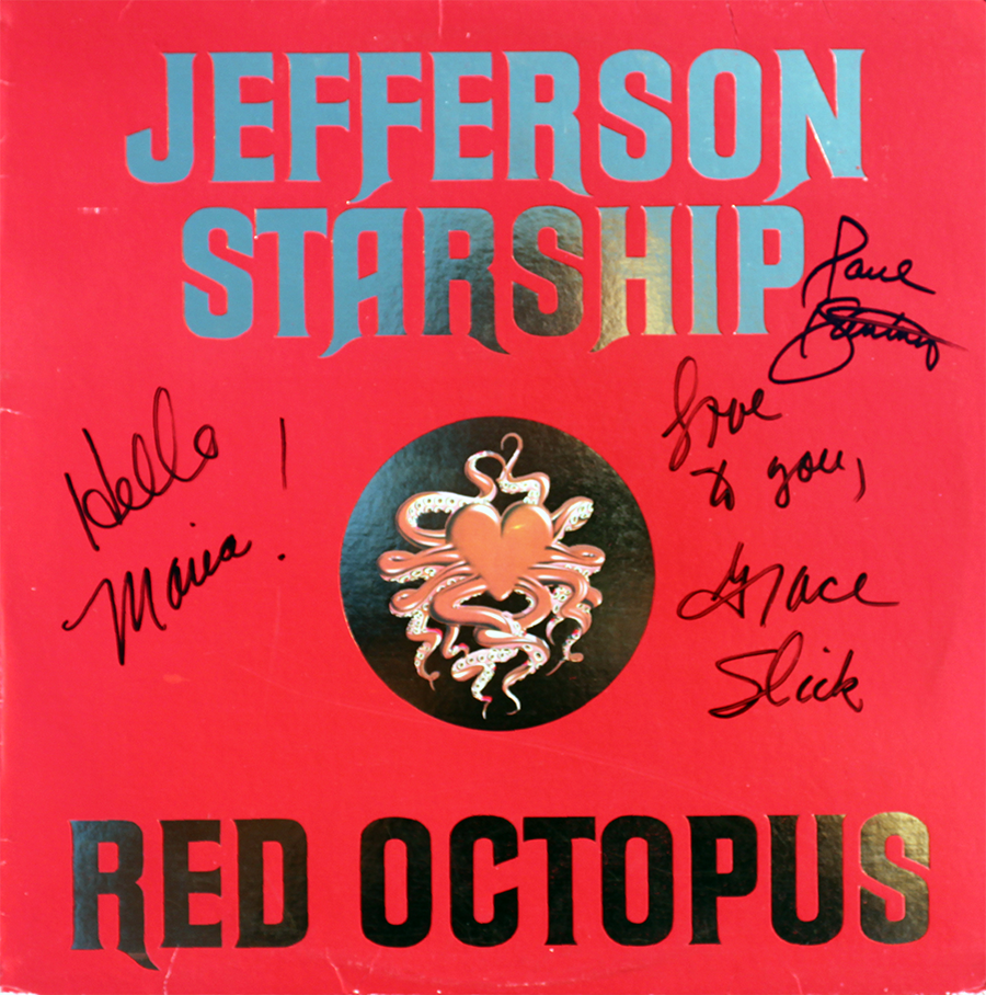 LP - Red Octopus #1