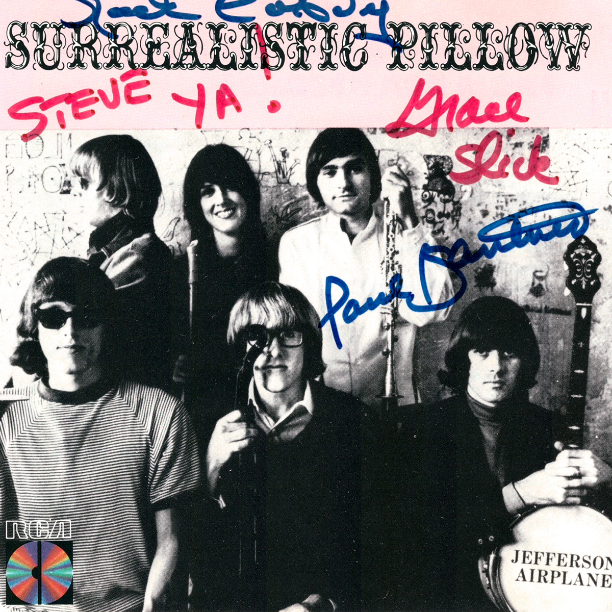 CD Cover - Surrealistic Pillow