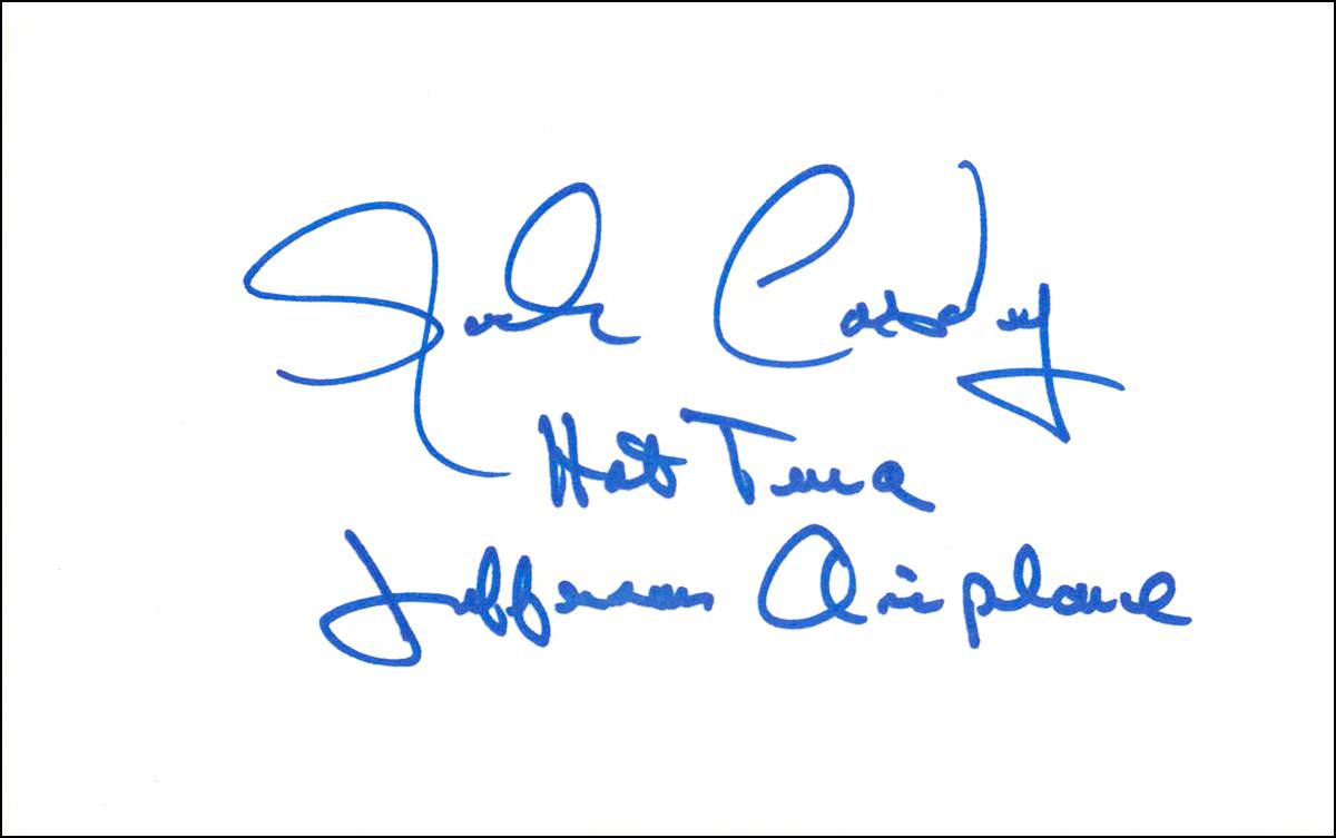 Index Card - Jack Cassidy #1