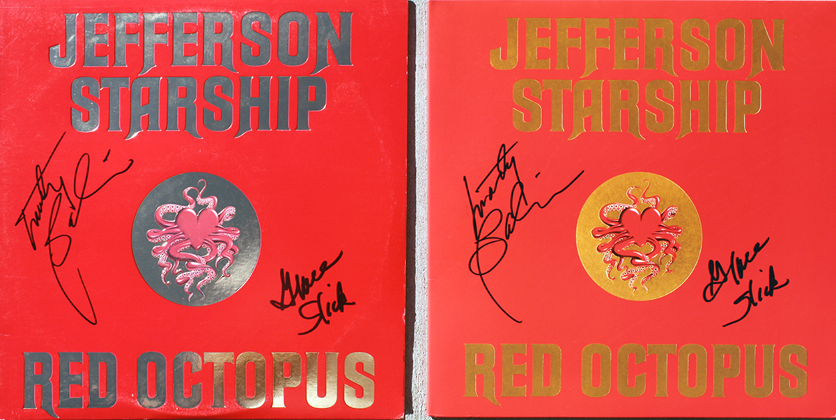 LP - Red Octopus #2 and #3