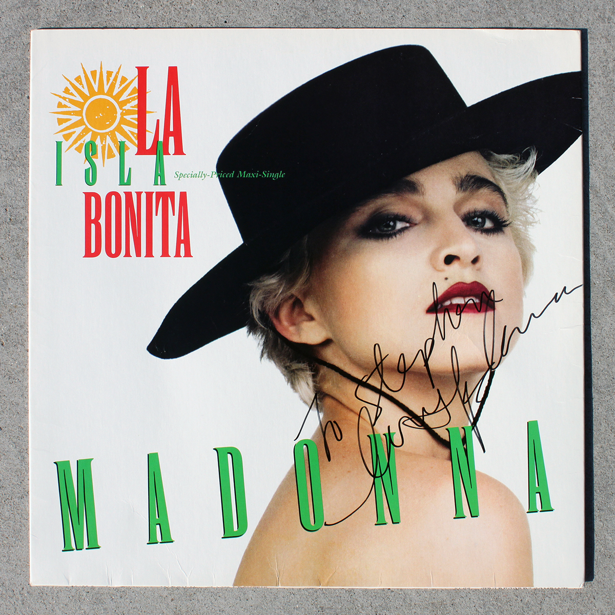 LP - Madonna - La Isla Bonita