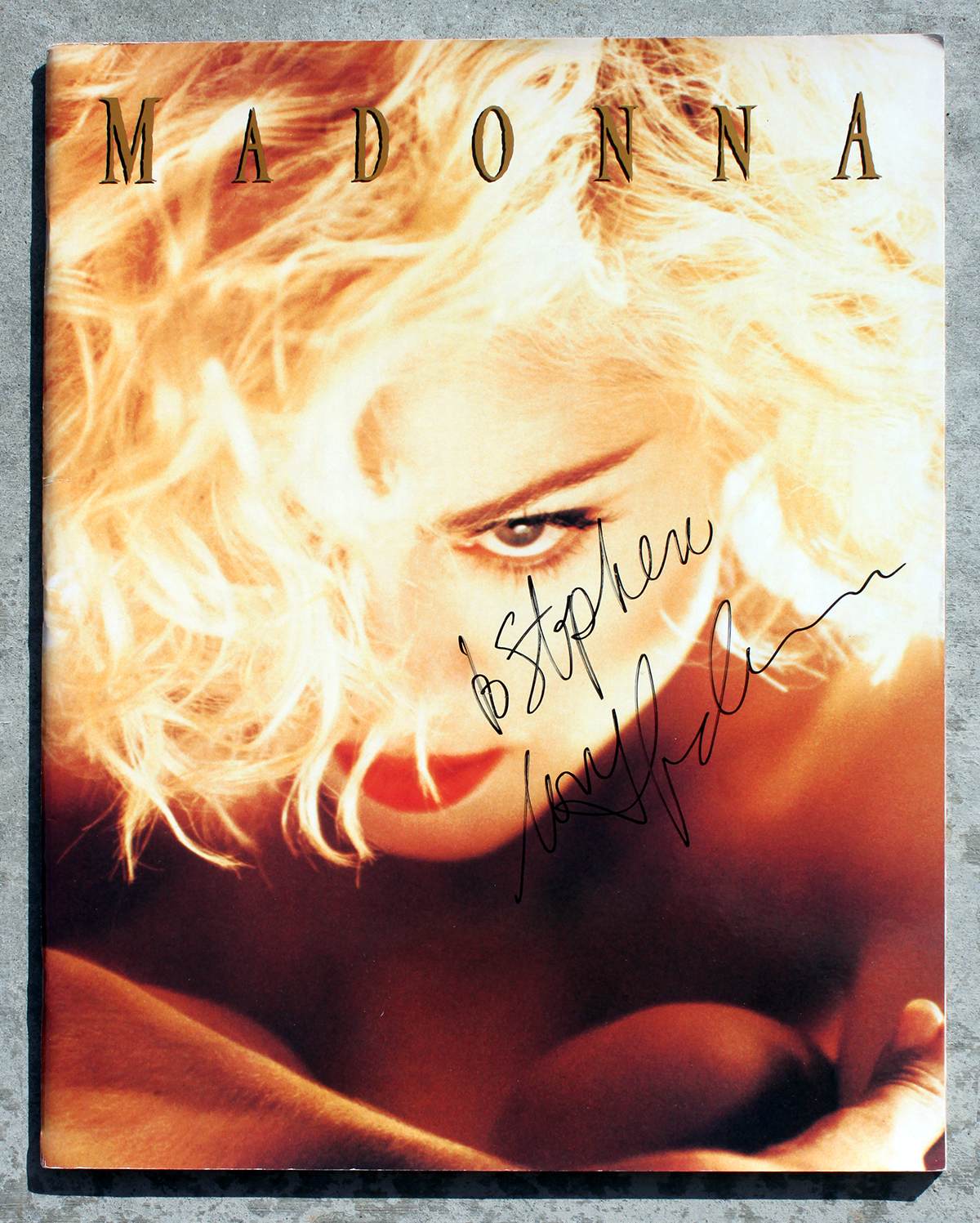 Tourbook - Madonna #2