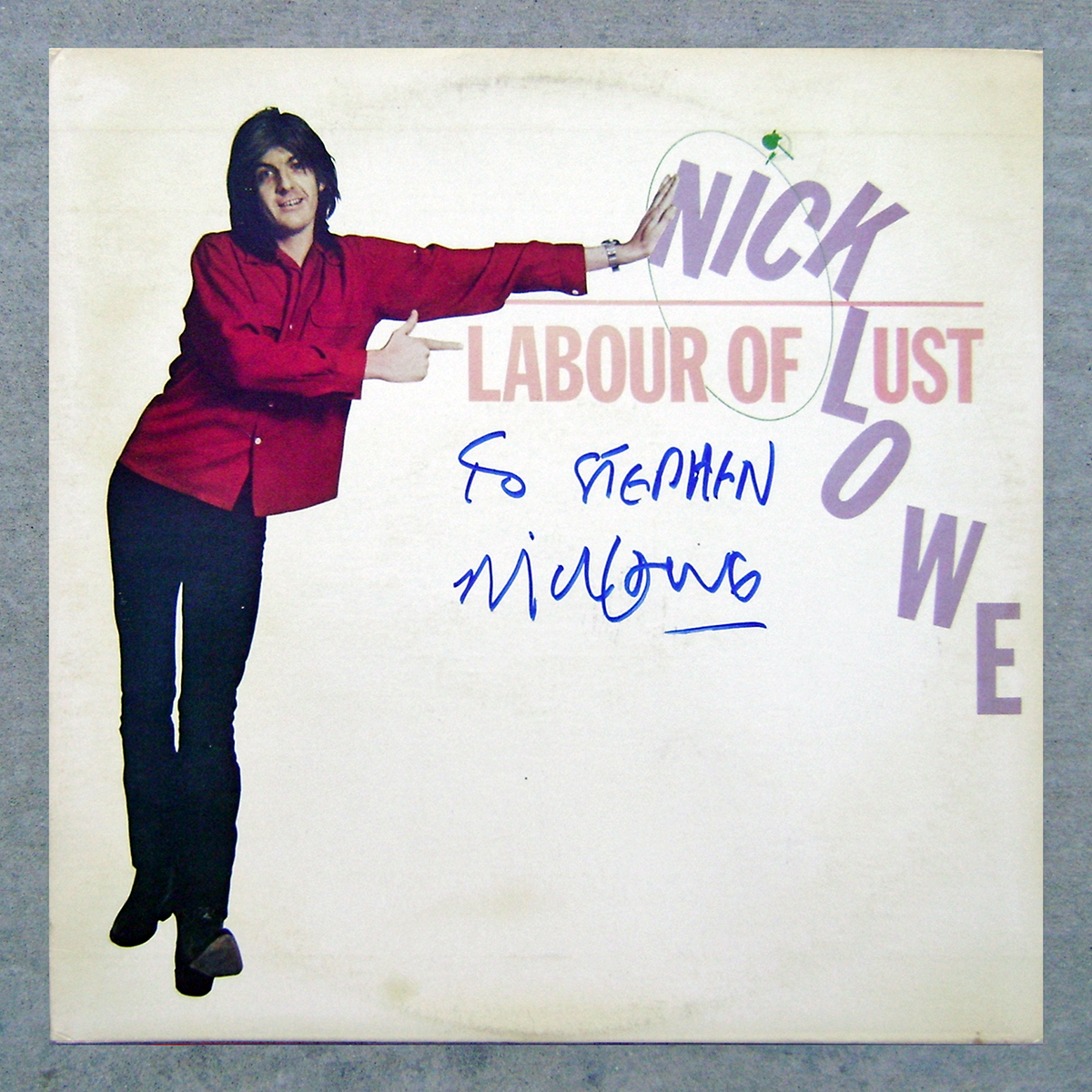 LP - Nick Lowe - Labour of Lust #1