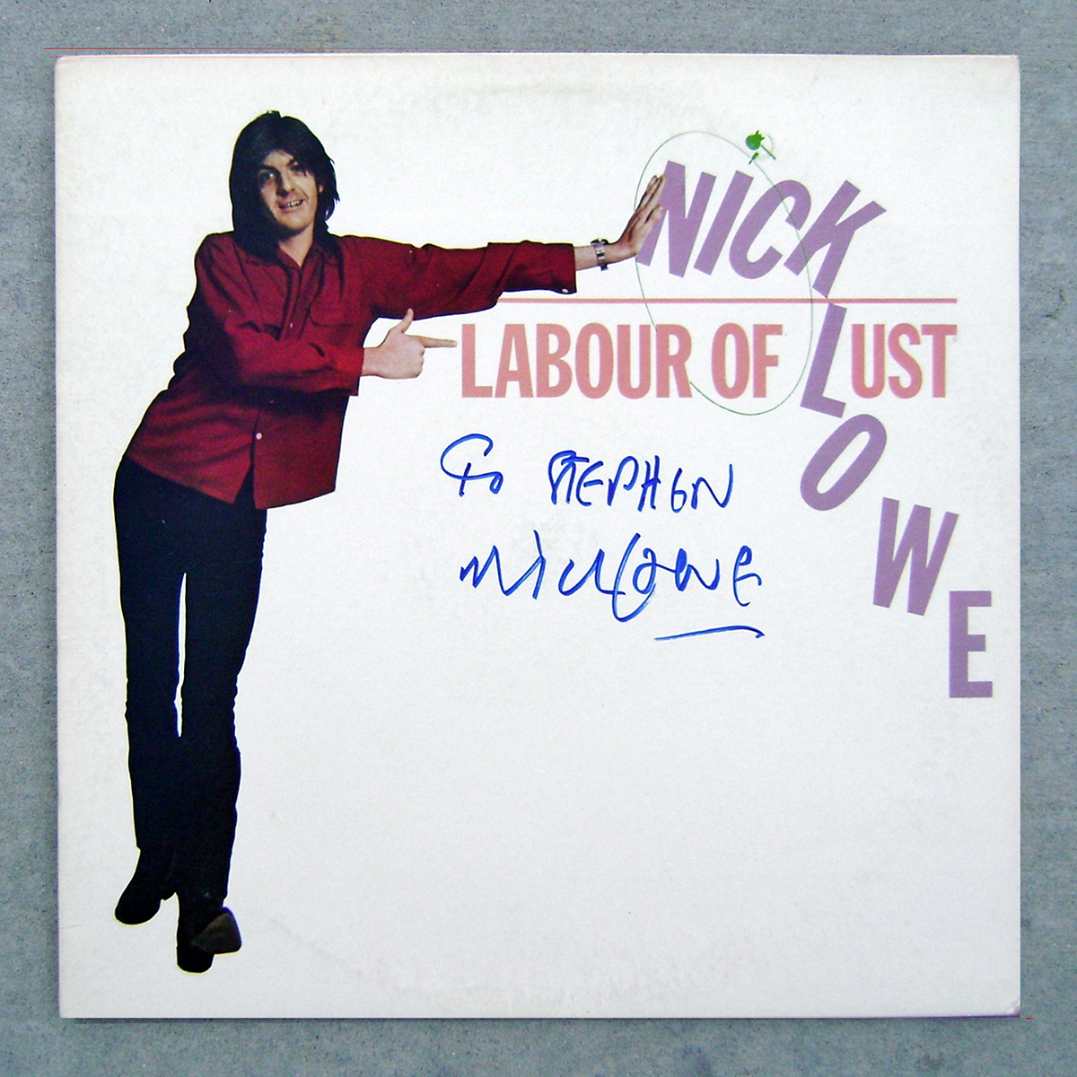 LP - Nick Lowe - Labour of Lust #2