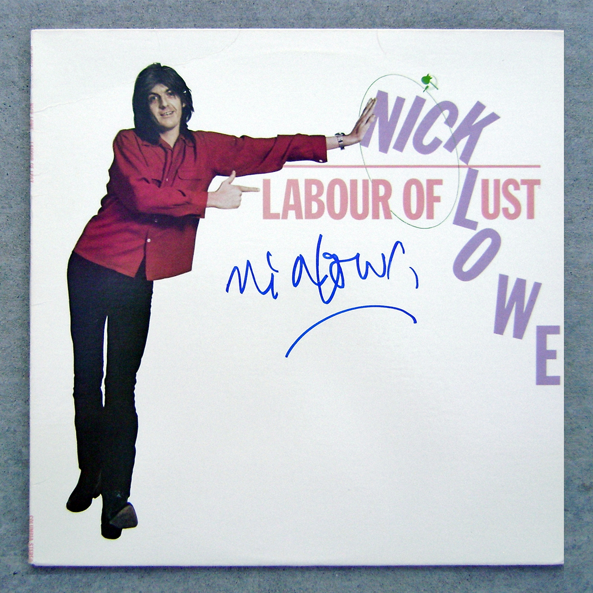 LP - Nick Lowe - Labour of Lust #3