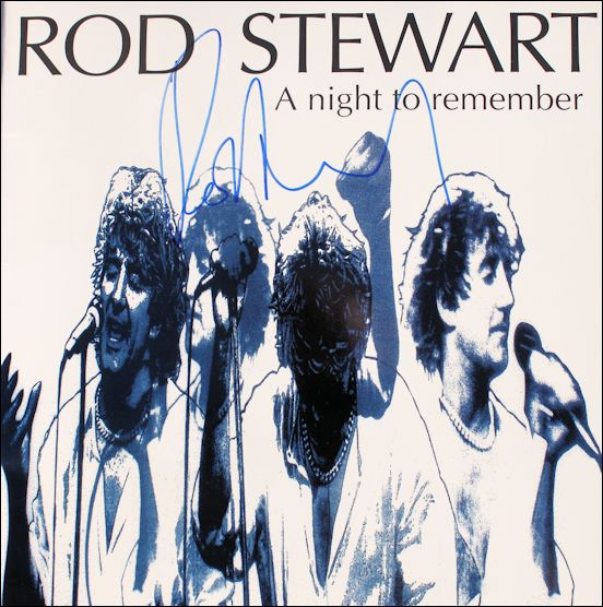 Tourbook - Rod Stewart - A Noght To Remember