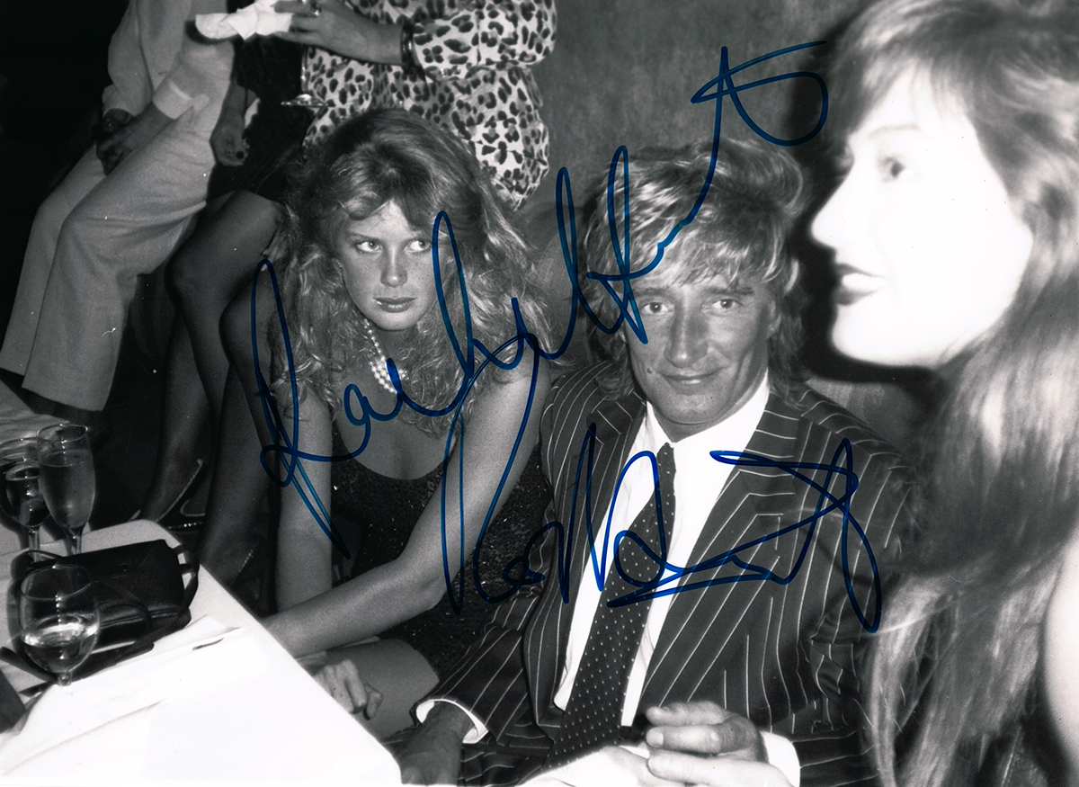 Photo - Rod Stewart and Rachel Hunter #1