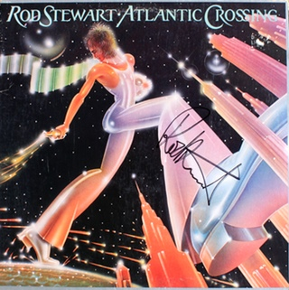 LP - Rod Stewart - Atlantic Crossing