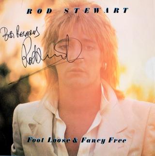 LP - Rod Stewart - Foot Loose and Fancy Free