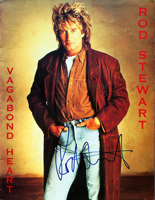 Poster - Rod Stewart - Vagabond