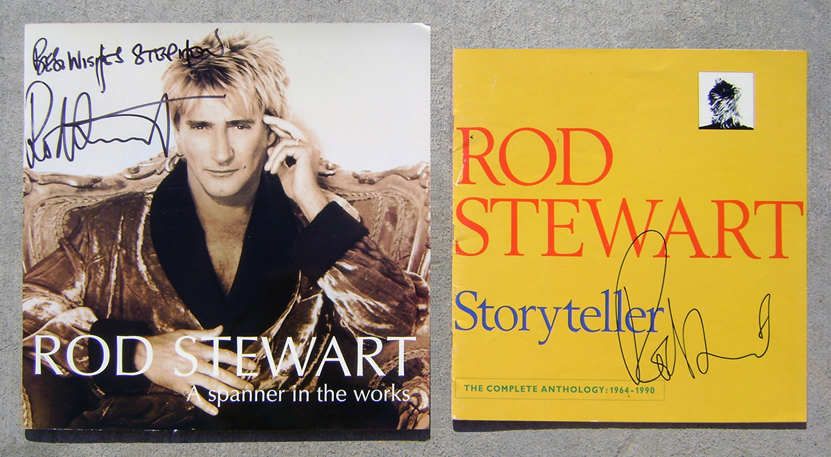 Tourbooks - Rod Stewart - Spanner in the Works and Storyteller
