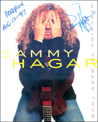 Tourbook - Sammy Hagar - Marching to Mars #2