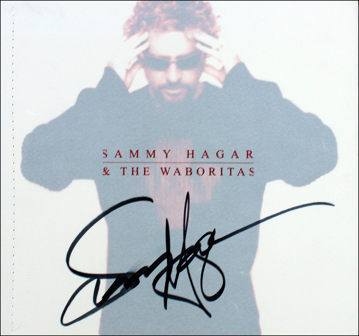 Tourbook - Sammy Hagar and the Waboritas