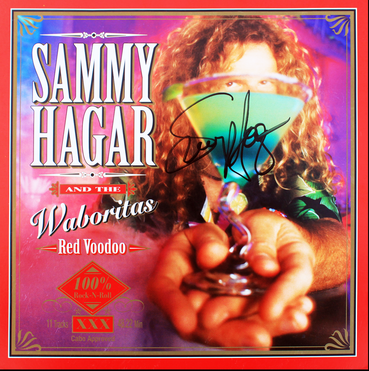 LP - Sammy Hagar and the Waboritas - Red Voodoo #2