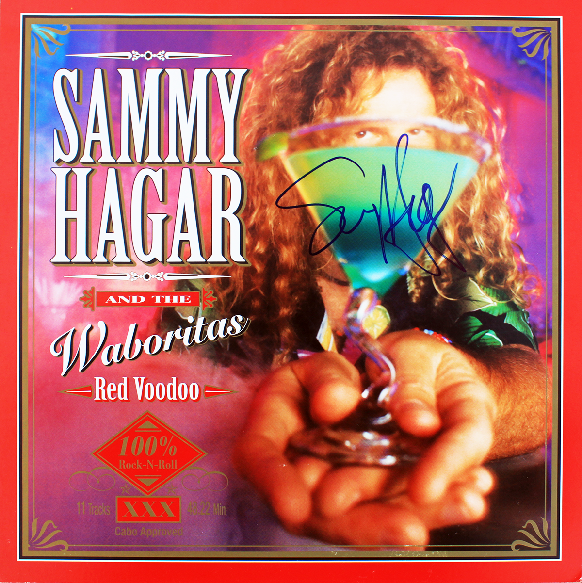 LP - Sammy Hagar and the Waboritas - Red Voodoo #1