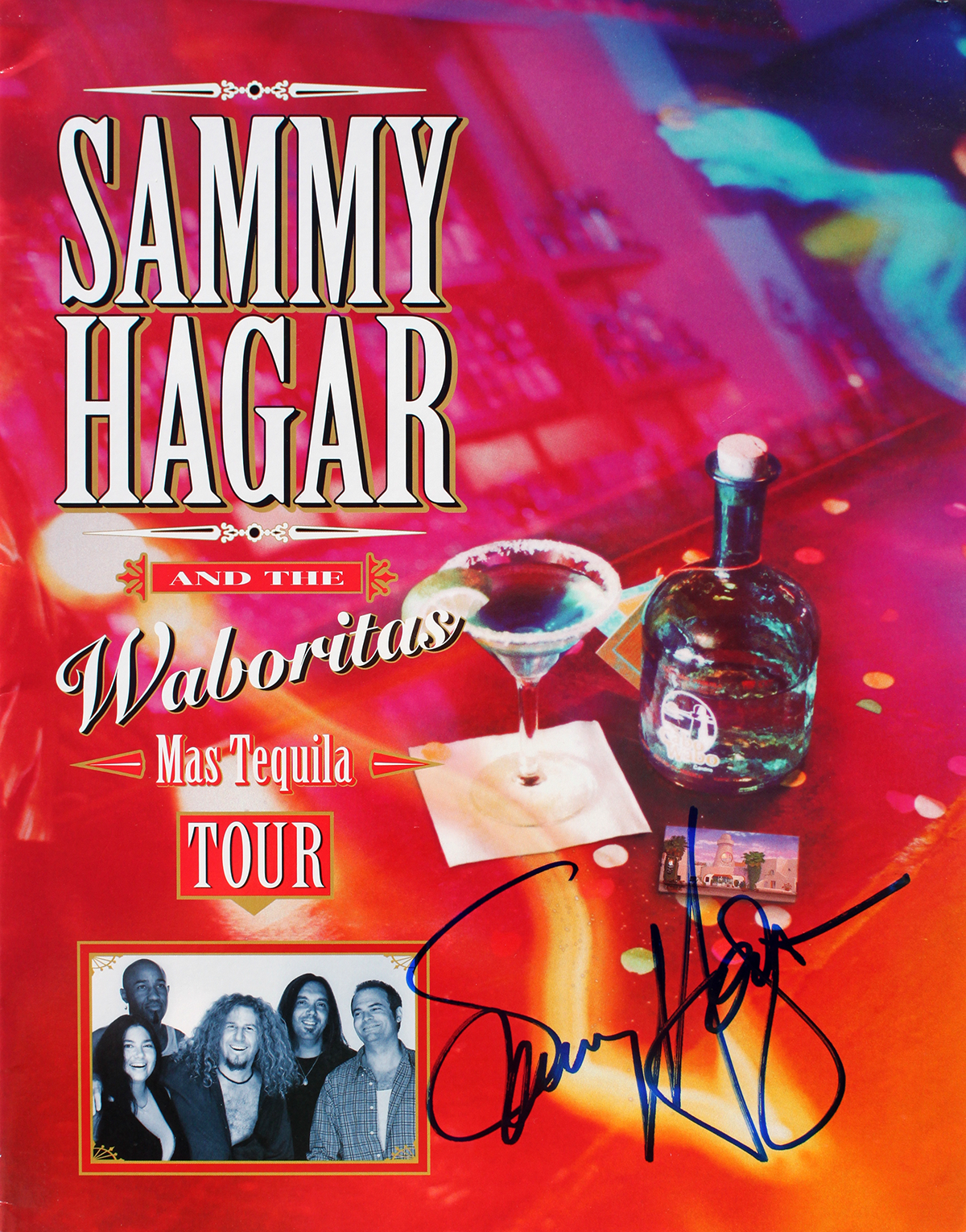 Tour Book - Sammy Hagar - Voodoo Lounge