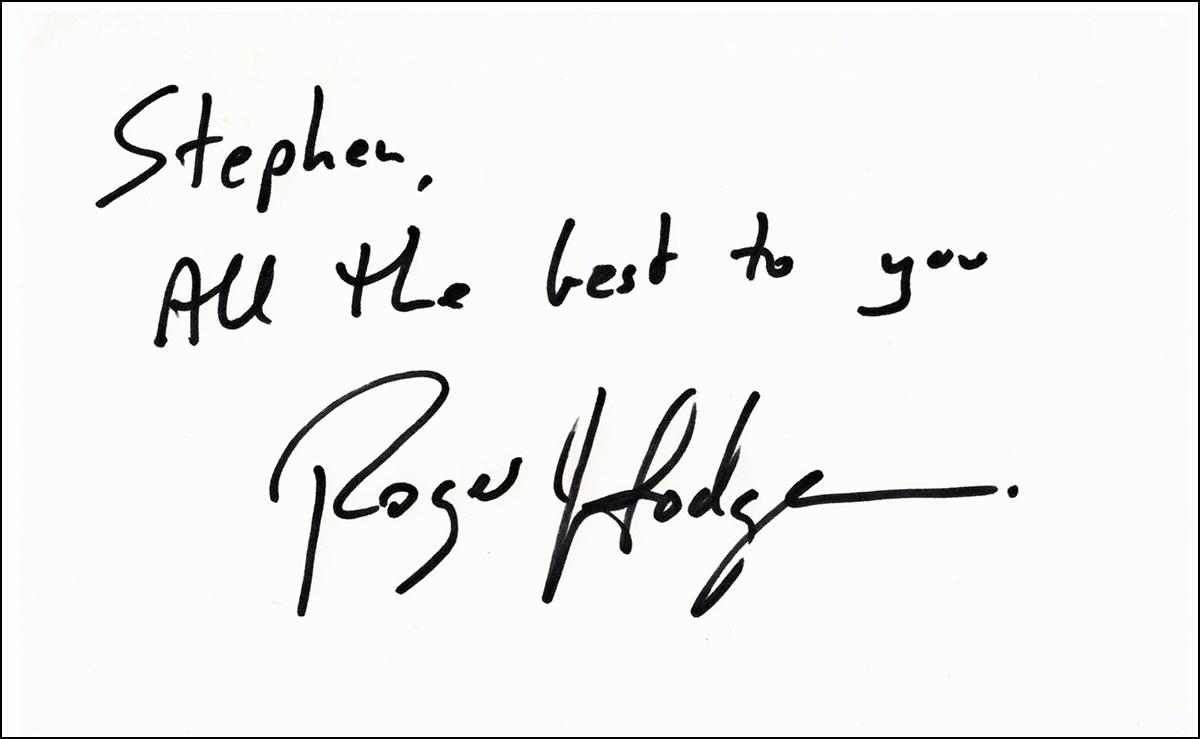 Index Card - Roger Hodgson