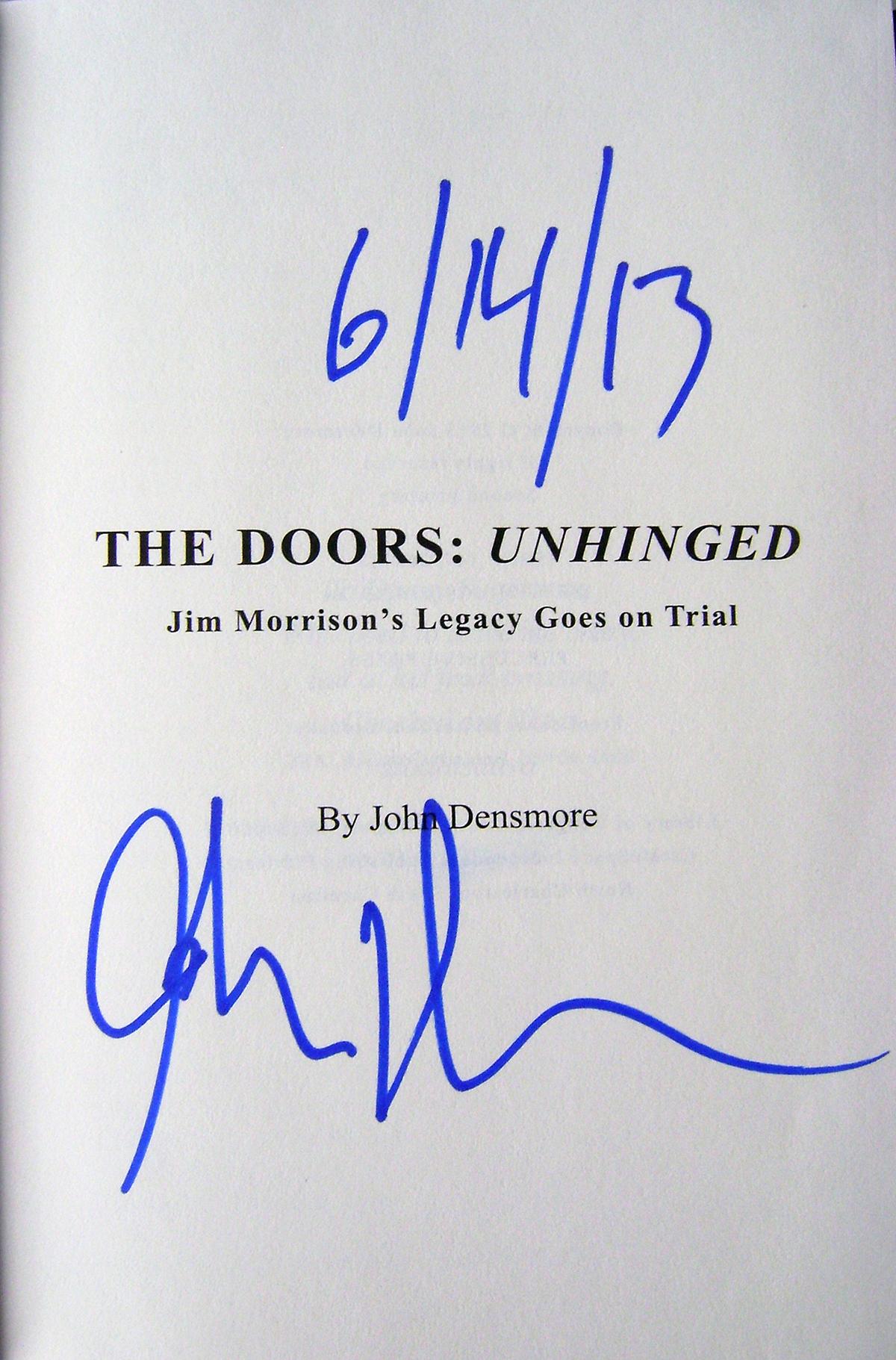 John Densmore - Unhinged Inside