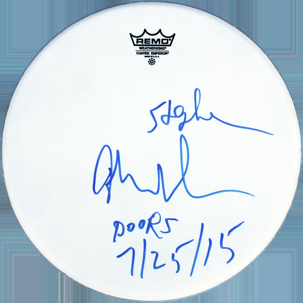 John Densmore Drumhead