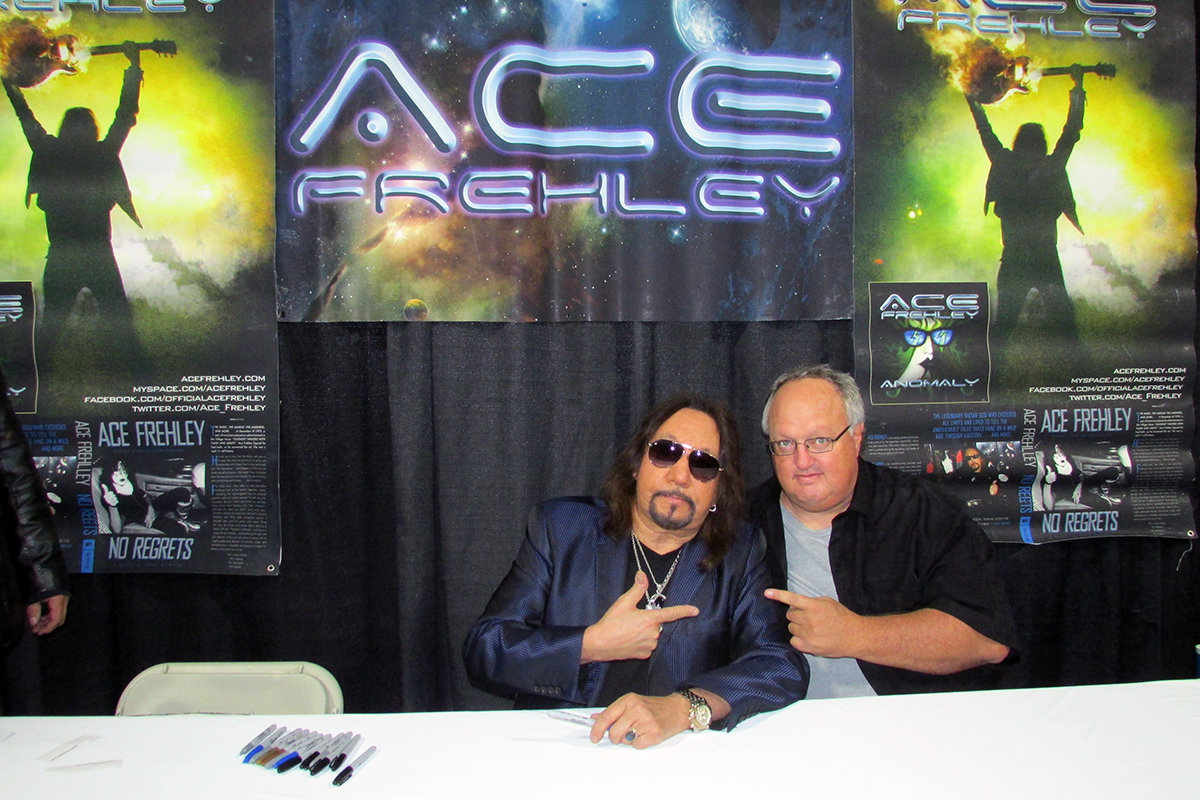 Photo - Stephen Duncan and Ace Frehely