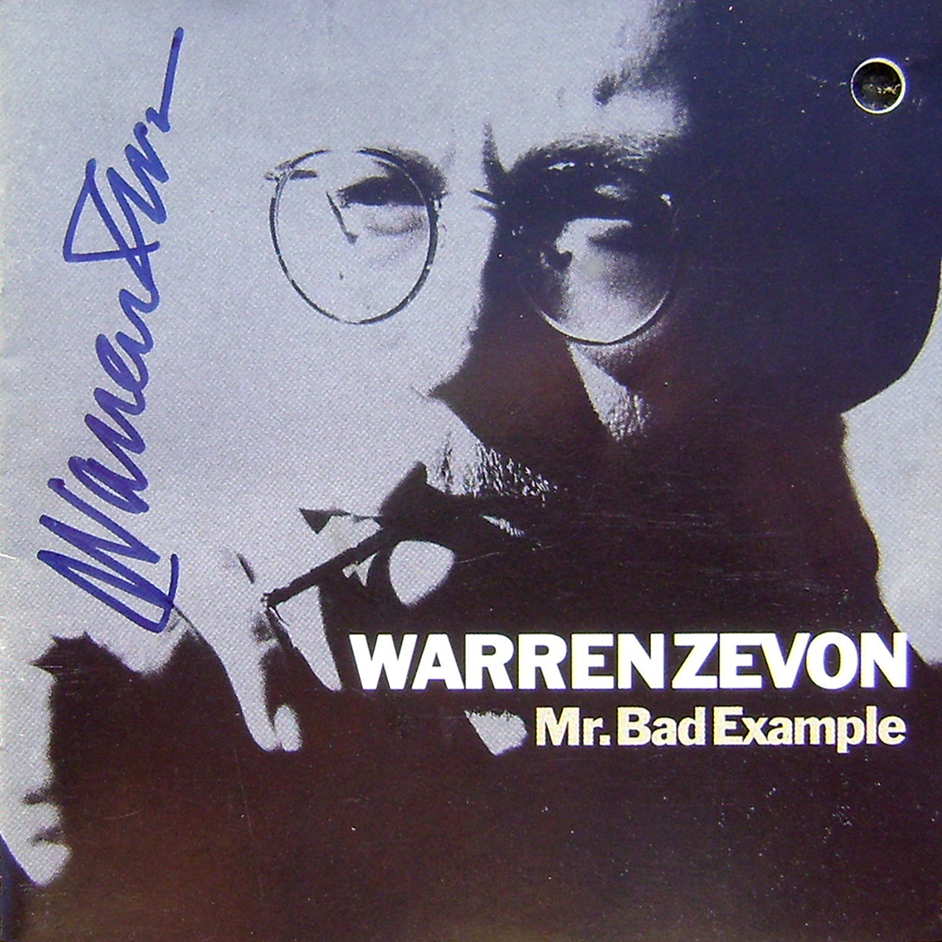 Warren Zevon CD - Mr Bad Example