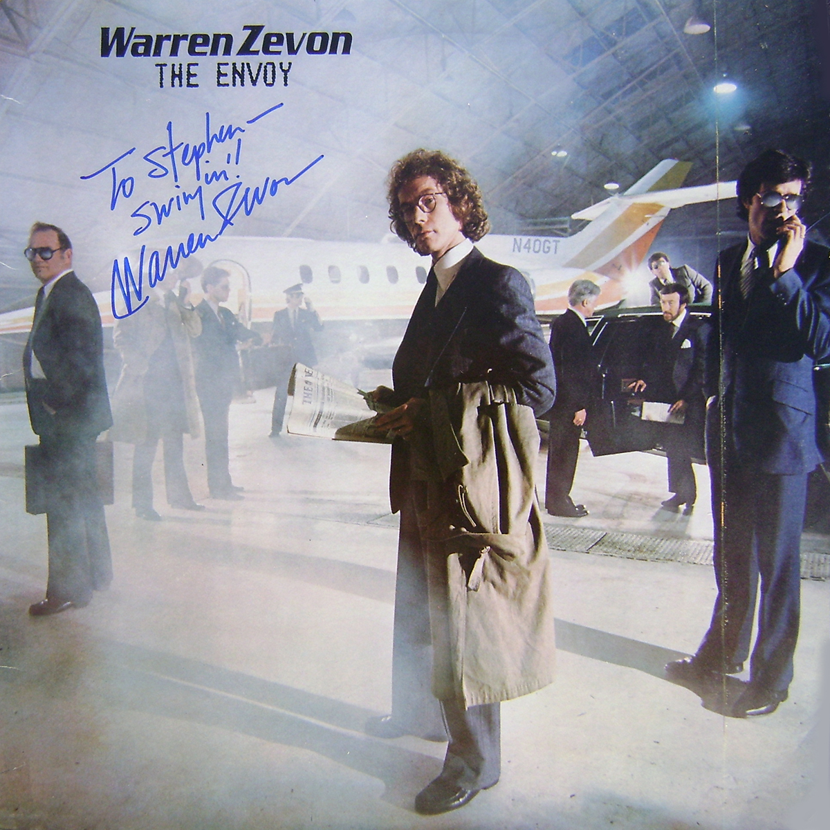 Warren Zevon LP - The Envoy