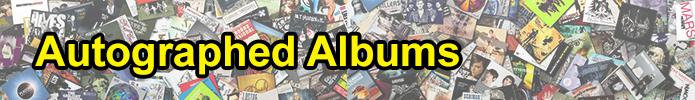 Autographed Albums