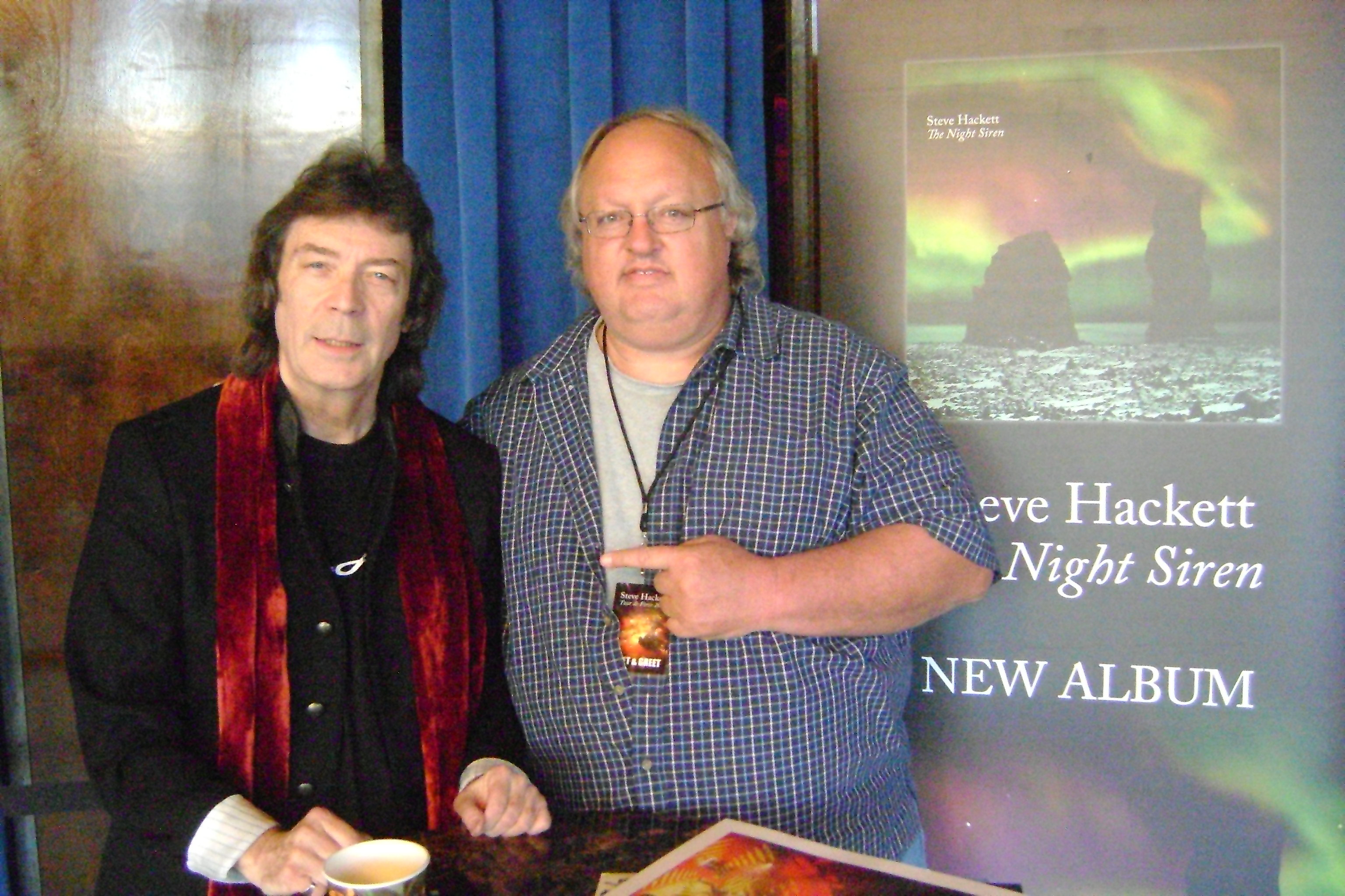 Celebrity encounters rockandrollcollection michael anthony at his guitar center meet greet on thursday april 26 2018 in pasadena steve hackett m4hsunfo