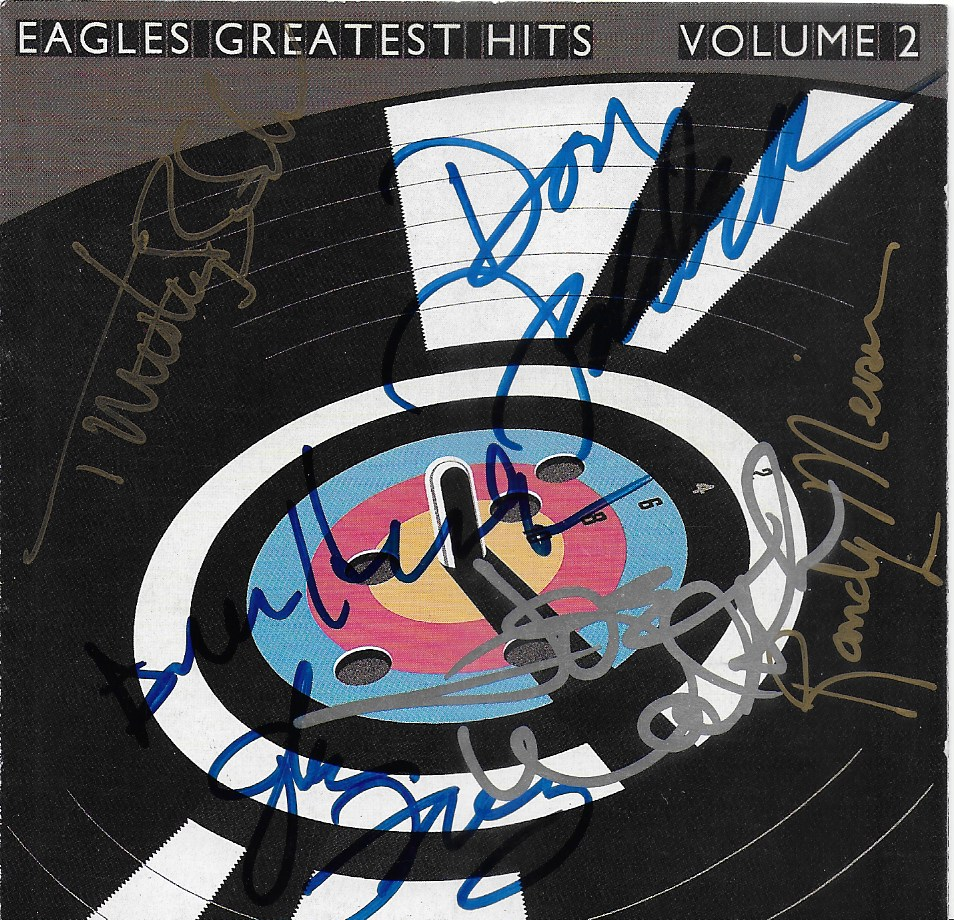 Eagles CD Cover - Hotel California