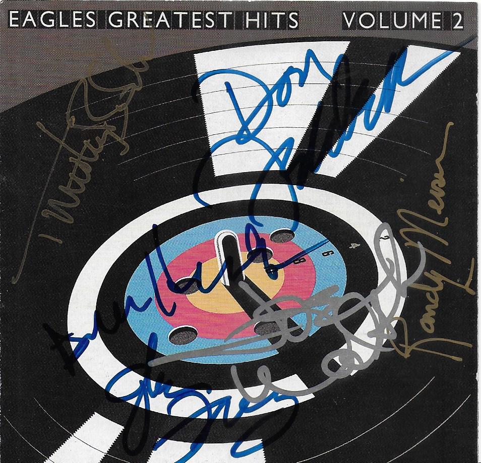 Eagles CD Cover - Hotel California
