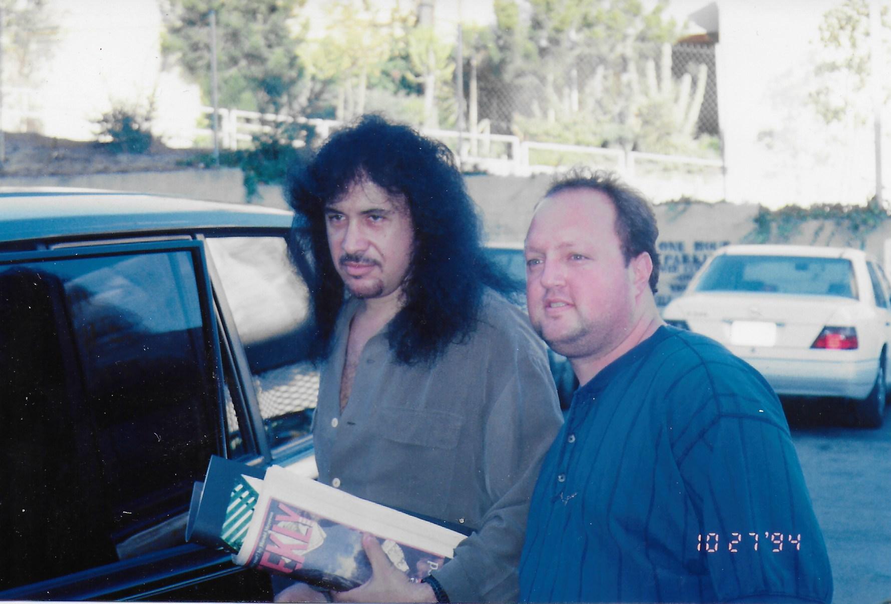 Stephen Duncan and Gene Simmons