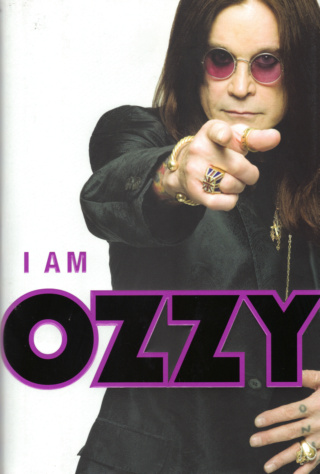 Ozzy Osbourne Book - I Am Ozzy #1a