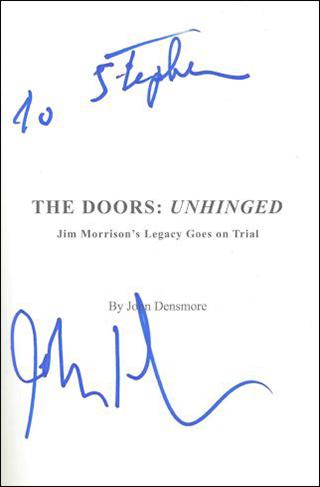 John Densmore Book - Unhinged #1b