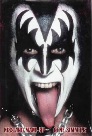 Gene Simmons Book - KISS and Make-Up #1a