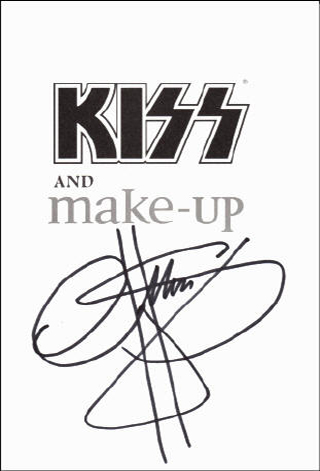 Gene Simmons Book - KISS and Make-Up #1b