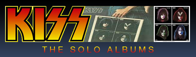 KISS solo albums header